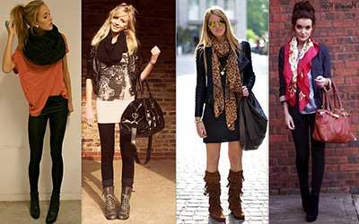 Cachecóis Femininos da Moda
