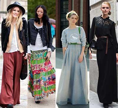 saias rodadas da moda