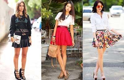 tendências de saias rodadas