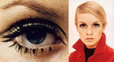 maquiagem anos 60