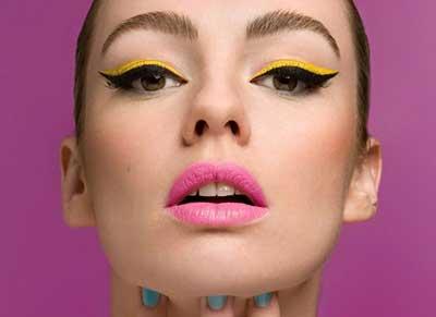 sugestões de maquiagem anos 60
