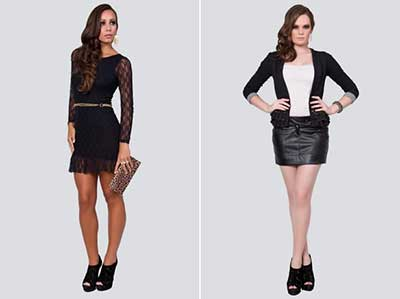 roupas para mulheres