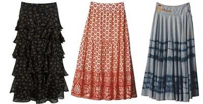 modelos de saias rodadas