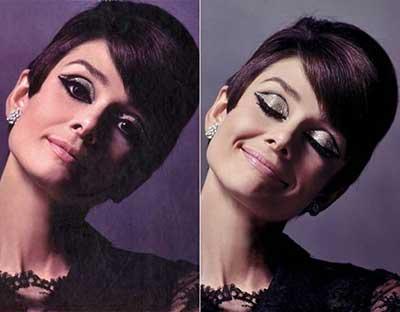 ideias de maquiagem anos 60