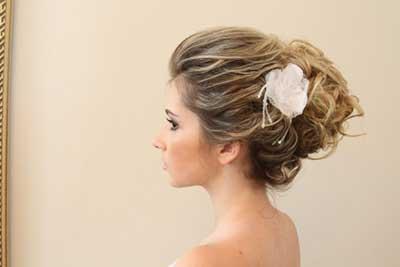 imagens de coques para noivas