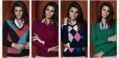 fotos de suéteres femininos