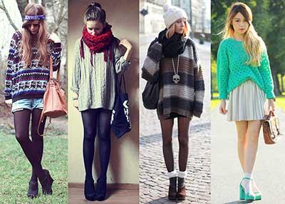 dicas de suéter para mulheres
