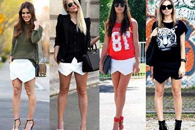 fotos de mulheres de shorts