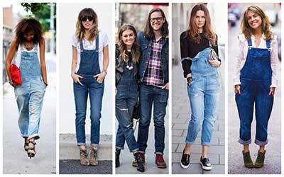 imagens de jardineiras jeans