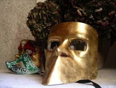 Modelos de máscaras africanas