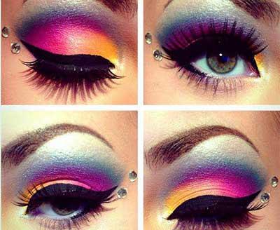 olhos da moda