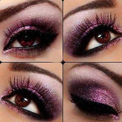 dicas de maquiagens para noite