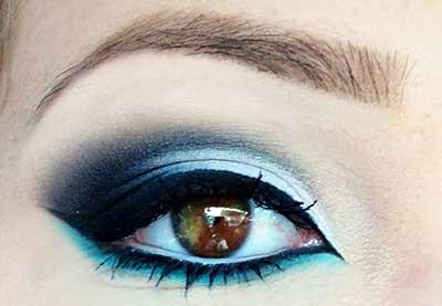 dicas de maquiagem azul