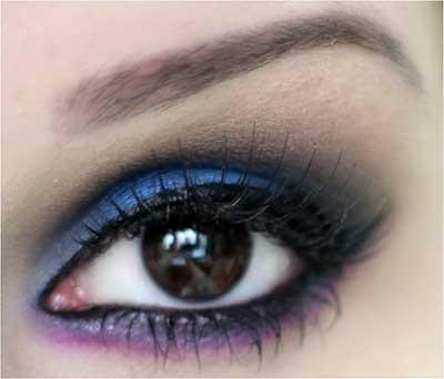 olho maquiado
