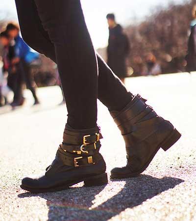 tendências de botas da moda