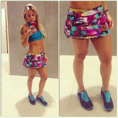 ff071cb8e Como Usar Short Saia Fitness  Fotos