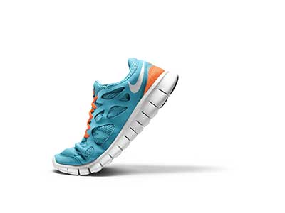 calçados de corrida