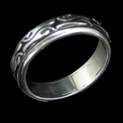 anel de prata feminino