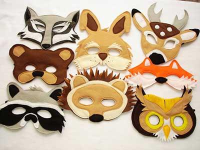 fotos de máscaras engraçadas