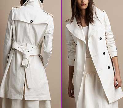 Modelos de Trench coat