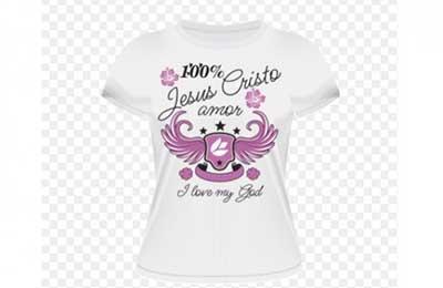 fotos de camisetas gospel