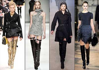modelos de botas de frio