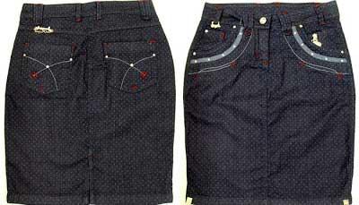 modelo de saia jeans