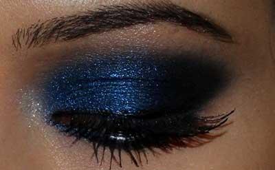 dicas de make azul