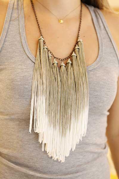 tendências de maxi colares