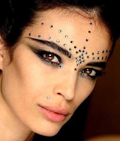 maquiagem de cigana