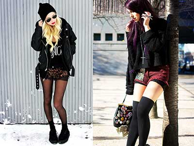 fotos de looks rock