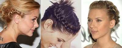 dicas de cabelos curtos com tranças