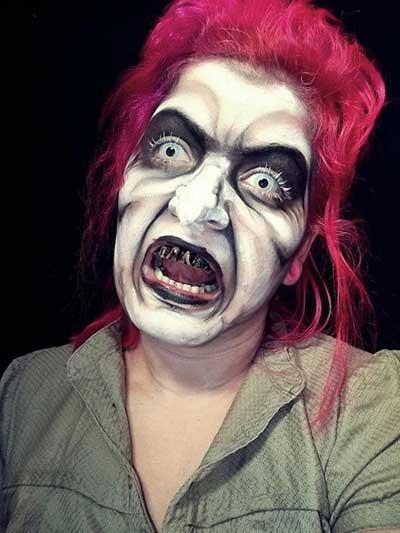 como fazer maquiagem de bruxa