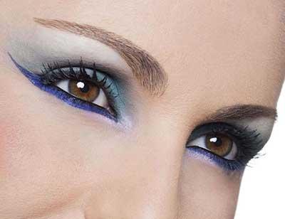 dicas de olhos maquiados