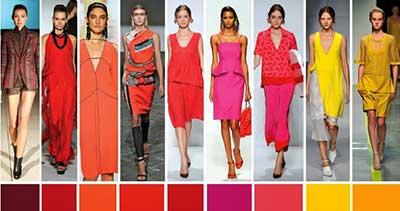 dicas de cores da moda