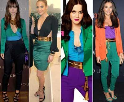fotos de cores da moda
