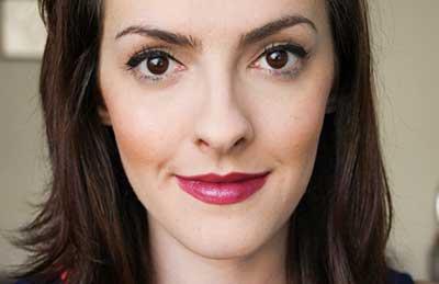 foto de maquiagem roxa