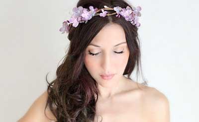 dicas de tiara de flores