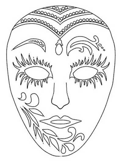 moldes de máscaras