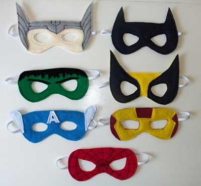 máscaras engraçadas de carnaval