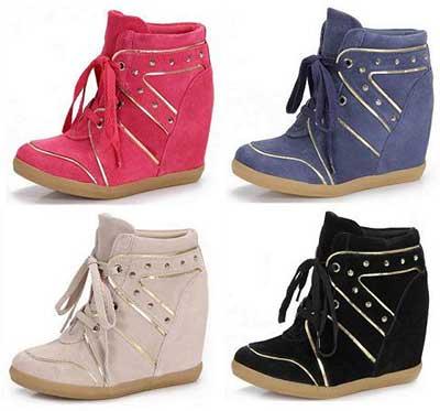 modelos de sneakers femininos