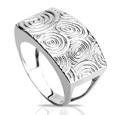 foto de anel de prata