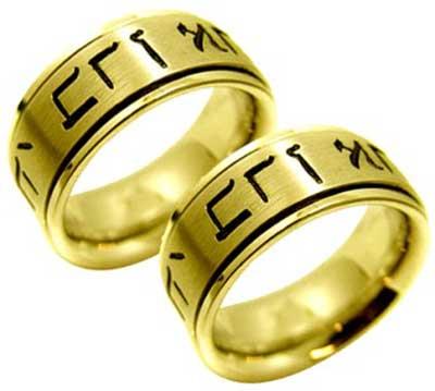 modelos de alianças de casamento