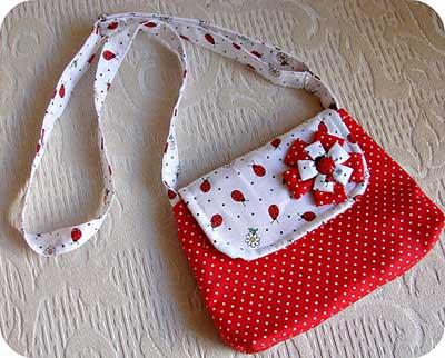 dicas de bolsas para meninas