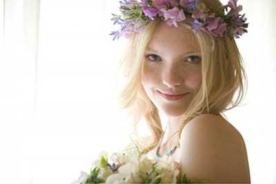 fotos de tiara de flores