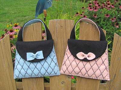 fotos de bolsas para meninas