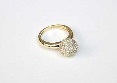 anel de brilhantes