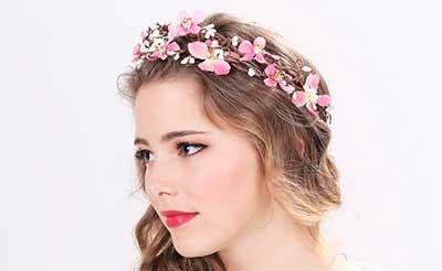 imagens de tiara de flores