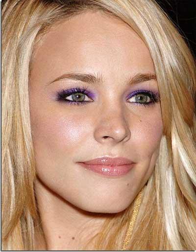 imagens de maquiagens roxas