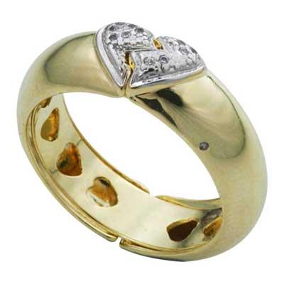foto de anel de brilhantes